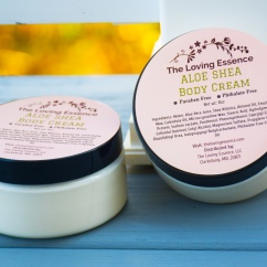 Aloe Shea Body Cream