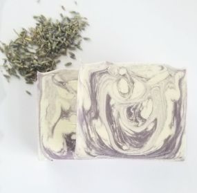Lavender Soap Brightened